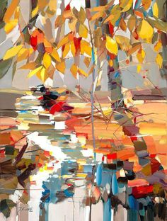 Josef Kote - Abstract Expressionist I love the uniqueness in this painting.