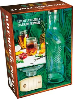 La Rhumerie pirate Les recettes secrètes de rhums arrangés Coffret livre + ustensiles #Recettes #Rhums