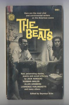 The Beats  Anthology of Beat Generation by ProfessorBooknoodle, $10.00
