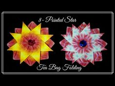 Tea Bag Folding: Triple Layer Star - YouTube