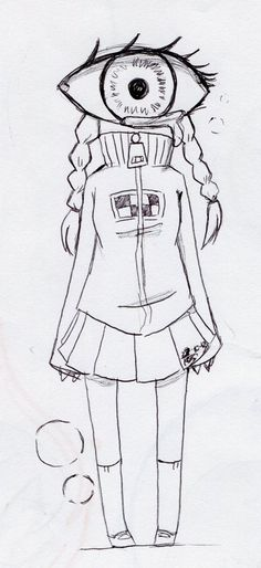 She is Madotsuki, a character created by Kikiyama from the game Yume Nikki.