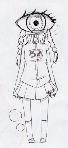 She is Madotsuki, a character created by Kikiyama from the game Yume Nikki.