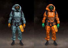 Surface Scout soldier by Iliya Klimov on ArtStation. Art Fallout, Fallout New Vegas, Cyberpunk Character, Cyberpunk Art, Armor Concept, Concept Art, Character Concept, Character Art, Apocalypse Character