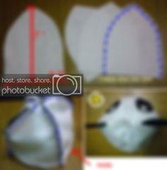 Photobucket Panda Costume Diy, Panda Costumes, Diy Costumes, Panda Head, Headgear
