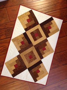 Shop sample Fall Table Runner 21.5 x 32 by myreddoordesigns