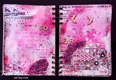 Art-journal {Words&Paintery} – Tusia Lech