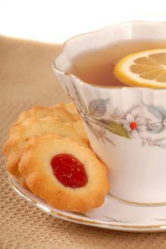 Raspberry Lemon Thumbprint Cookies Recipe