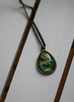 Kup mój przedmiot na #vintedpl http://www.vinted.pl/akcesoria/bizuteria/10712860-naszyjnik-boho-hippie-pawie-piora