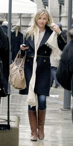 Jacket - Burberry Purse - Jimmy Choo Similar style boots