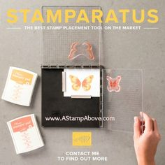 I have a fantastic tip using the Stampartus as a template! You'll find all the details on my blog - just click on the photo to go there. www.AStampAbove.com