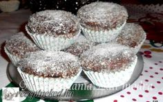 Kókuszkocka muffin recept fotóval