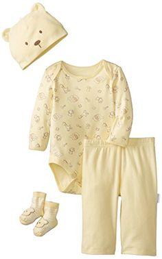 15€ amazon Vitamins Baby Baby-Boys Newborn Animals 4 Piece Creeper Pant Set, Yellow, 3 Months Vitamins Baby http://www.amazon.com/dp/B00JUFR9QY/ref=cm_sw_r_pi_dp_RpeEub1AHB62X