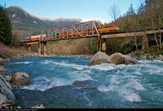 RailPictures.Net Photo: BNSF 4371 BNSF Railway GE C44-9W (Dash 9-44CW) at Gold Bar, Washington by Eric Williams