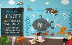 We provide you largest collection of online wall decals, wall stickers, and home decor and fashion products at affordable price. visit : http://designerplayground.com/wall-decals