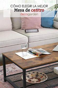 ¡Toma nota y elige la mejor mesa de centro para decorar y vestir tu salón! Ideas, Table, Furniture, Home Decor, Square Coffee Tables, Square Tables, Round Coffee Tables, Coffee Tables, Oval Table