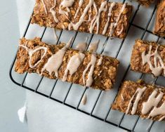 Carrot Cake Breakfast Bars | infinebalance.com recipe