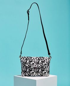 Splash-Print Cross Body Bag - Black // Kate Sheridan