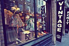 Boutique vintage, Londres