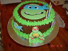 ninja turtle cakes | Ninja Turtles Cake | Flickr - Photo Sharing!