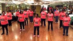 "Dance: ""Uptown Funk Baby"" line dance created by Keema and Nana J of K2C (Keema's Kickin' Crew). Song: ""Uptown Funk"" by Mark Ronson featuring Bruno Mars. NO C..."