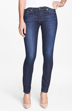 Free shipping and returns on AG 'The Stilt' Cigarette Leg Jeans (Free) at Nordstrom.com. An ultra-lean silhouette defines a pair of clean, medium-blue denim jeans perfect for casual or dressed up looks.