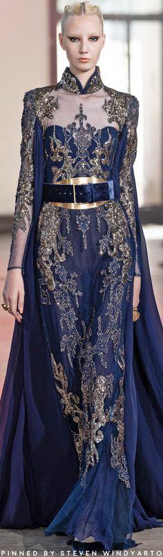 Elie Saab Fall 2019 Couture Fashion Show - Vogue Couture Fashion, Runway Fashion, High Fashion, Fashion Show, Fashion Outfits, Fashion Design, Fall Fashion, Fashion Trends, Elie Saab Haute Couture
