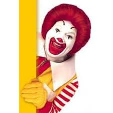 #McDonald's #mascotte @RonaldMcDonald