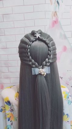 Easy Hairstyles For Long Hair, Braids For Long Hair, Up Hairstyles, Braided Hairstyles, Cute Hairstyles For Kids, Front Hair Styles, Medium Hair Styles, Natural Hair Styles, Hair Tutorials For Medium Hair