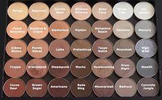 Z palette makeup geek