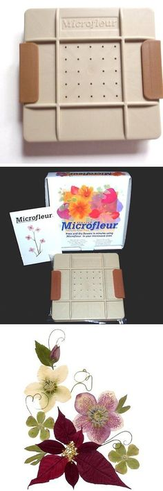 Dried Flowers 16493: Microfleur 5 (13 Cm) Microwave Regular Flower Press -> BUY IT NOW ONLY: $41.46 on eBay!