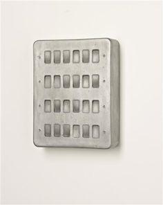 RACHEL WHITEREAD  Untitled (Twenty Four Switches), 1998