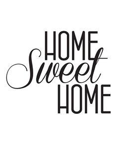 home sweet home vinilo - Buscar con Google