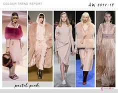 pastel pink color trend #UpcomingFashionTrends