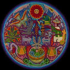 Mexico's Huichol resource page: their culture, symbolism, art : Mexico Culture & Arts