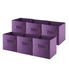 Cloth Storage Bins Cubes Boxes Fabric Baskets Containers,Collapsible Closet Shelf Nursery Drawer Organizer for Clothes, Home, Office, Bedroom with Dual Strong Handles, Set of 6 Purple https://www.amazon.com/Storage-Baskets-Containers-Collapsible-Organizer/dp/B071CPNZBJ/ref=sr_1_2?ie=UTF8&qid=1508743948&sr=8-2&keywords=homyfort