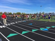 Leg #7 in the boys 8x200m relay. No thats not a typo. And...