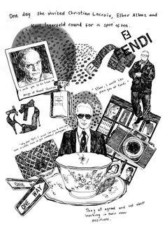 Illustration for Sketchbook Magazine