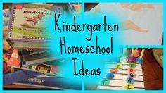 Fun, cheap, and free homeschool ideas for kindergarten!