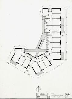 Franco Albini - Case INCIS Casa, Vialba 1953