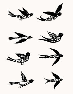 Birds-tattoos