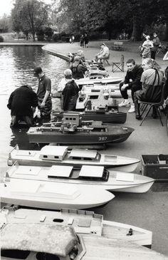 Victoria Park Model Steam Boat Club