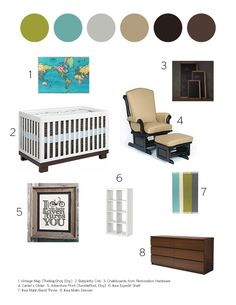 Snips, Snails and Puppy Dog Tails Baby boy inspiration board