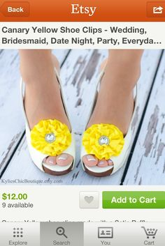 Cute shoe clips