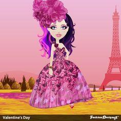 @Karan Leetham designed this dress called Watercolor Love song.