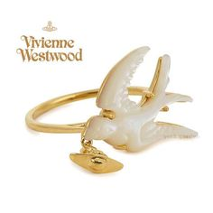 Vivienne Westwood 指輪・リング 2016/17新作★Vivienne Westwood ツバメの素敵な指輪★ゴールド