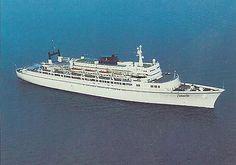 Enchanted Isle cruise ship at sea