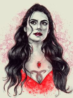 Emeraude Toubia as Isabelle Lightwood by victoriakarmanova | TMI Shadowhunters