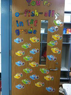 First Grade Fabulous Fish: Classroom Tour