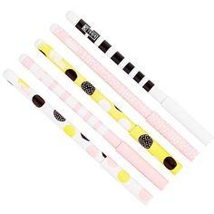 SLIM BALLPOINT PEN 5PK: WHY NOT? - Pen & Pencil Packs - Pens & Pencils - Stationery