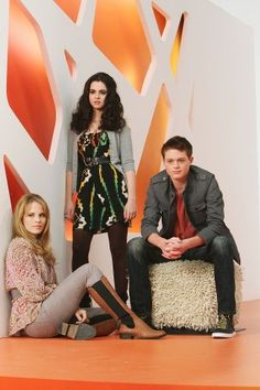 Daphne, Bay and Emmett ~ Switched at Birth, photo promotionnelle